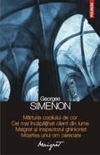 81 Georges Simenon - Marturia copilului de cor